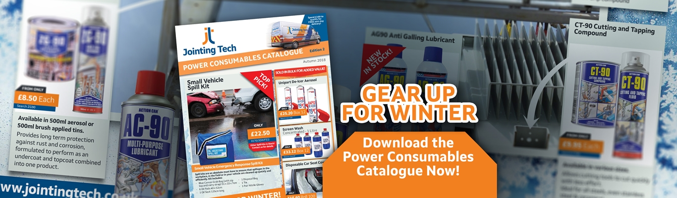 On our Power Consumables Range