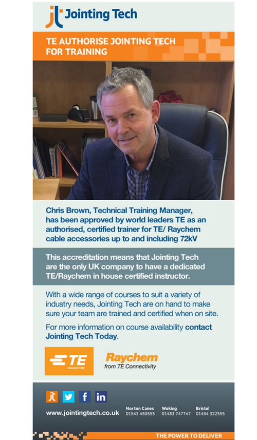 TE Authorise Jointing Tech for Training