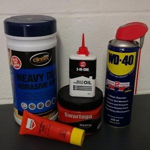 Fluids, Lubricants & Aerosols
