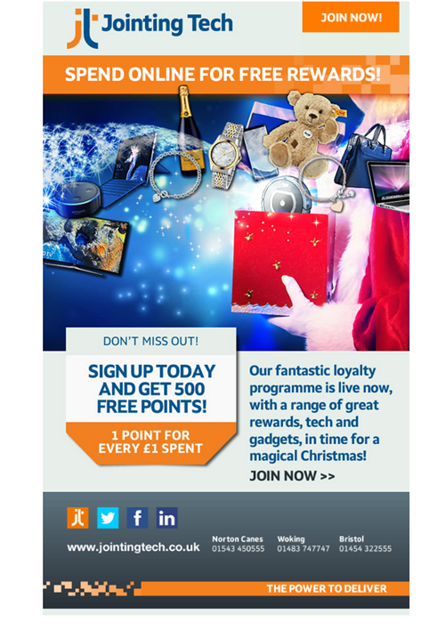 500 Free Loyalty Points
