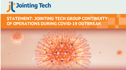 Statement:  Jointing Tech Group Continuity of Operations During COVID-19 Outbreak