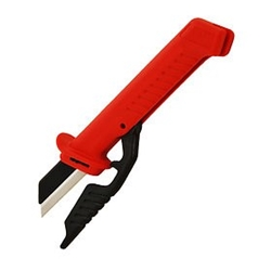 Boddingtons 1000v Insulated Cable Knife w/Integrated Blade Safety Guard