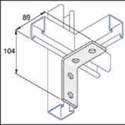90 Deg Angle Bracket (2 Hole/2 Hole)
