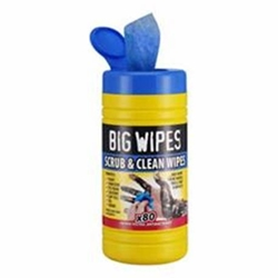 Big Wipes – Scrub & Clean TUB OF 80