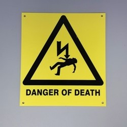Danger of Death (ABS Material)