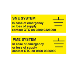 GTC System Labels