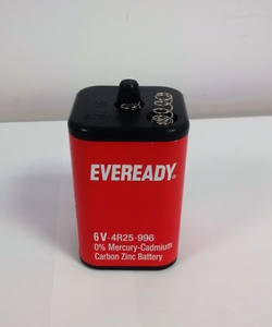 Eveready 6V Carbon Zinc Battery