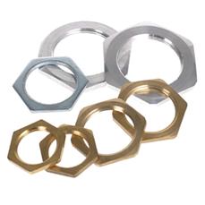 Locknuts – Brass, Steel & Aluminium