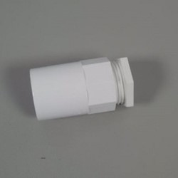 Round Female PVC Adaptor