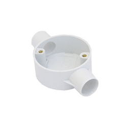 Round PVC Through Box