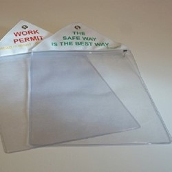 Worksite Permit Wallet Holders